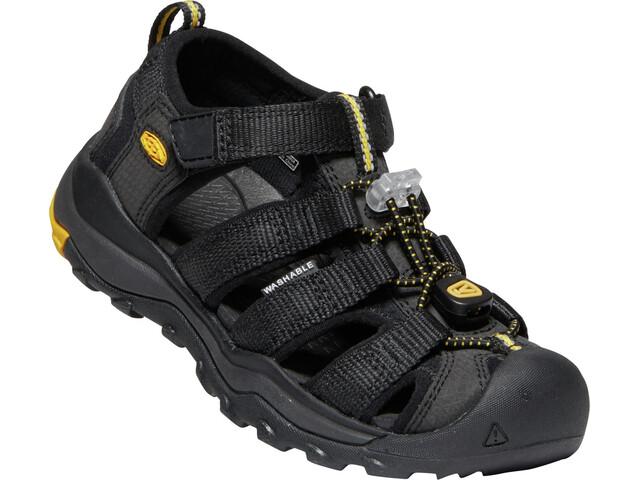 Keen Newport Neo H2 Sandały Dzieci, black/keen yellow